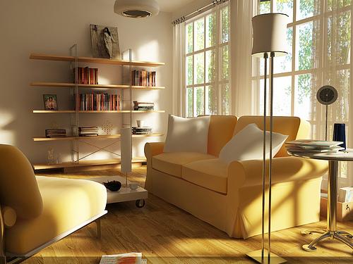 インテリアにも季節感を。春らしさで部屋の中を満たすためのインテリアコーディネート 4番目の画像