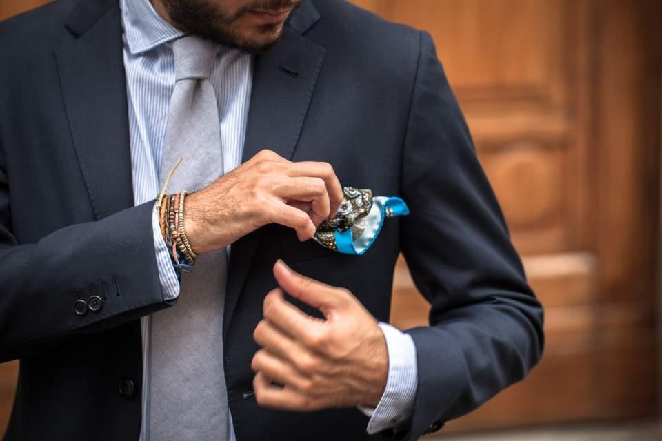 スーツのポケットにも幾つか種類がある。理想のスーツスタイルに最短距離で辿りつくための基礎知識 1番目の画像
