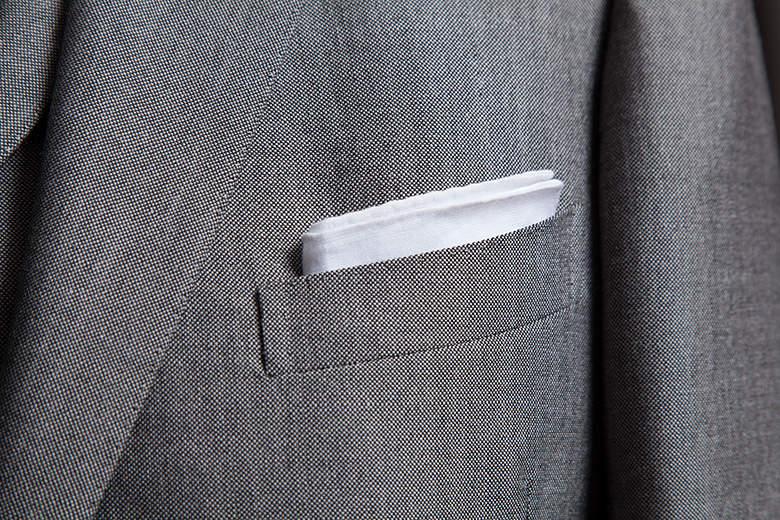 スーツのポケットにも幾つか種類がある。理想のスーツスタイルに最短距離で辿りつくための基礎知識 2番目の画像