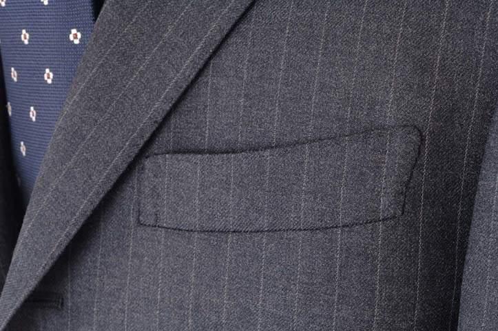 スーツのポケットにも幾つか種類がある。理想のスーツスタイルに最短距離で辿りつくための基礎知識 3番目の画像