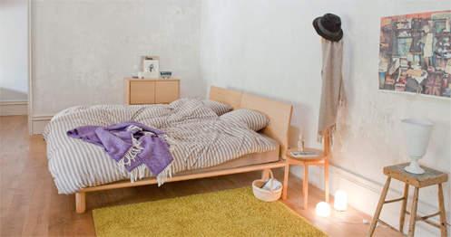シンプルで素朴なデザインも魅力。アレンジできる楽しさが詰め込まれた無印良品のベッド 2番目の画像