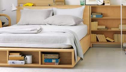 シンプルで素朴なデザインも魅力。アレンジできる楽しさが詰め込まれた無印良品のベッド 6番目の画像