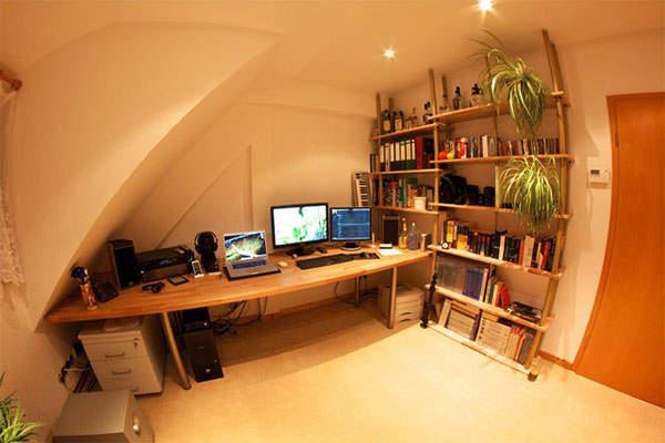 自分だけの空間を作り出す。おしゃれで集中できる書斎周りの環境の作り方 2番目の画像