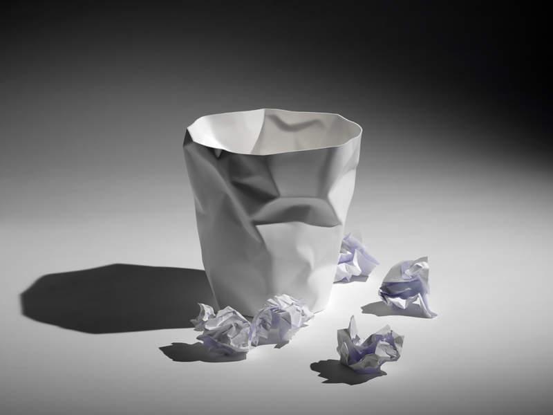 リビングにおいてもスタイリッシュに決まる。洗練されたデザインを持つゴミ箱3選 3番目の画像