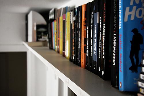 乱雑な本の山とはお別れしよう。ごちゃごちゃな本棚から開放されるための収納術 3番目の画像