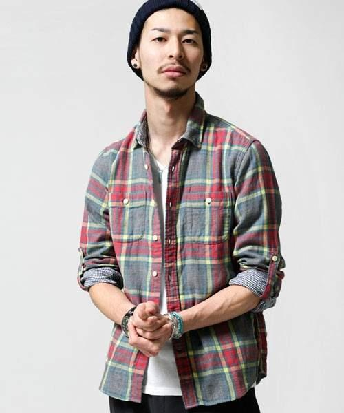 さりげない色使いがたまらない。大人のための「ネルシャツ」人気セレクトショップの新作コレクション 2番目の画像