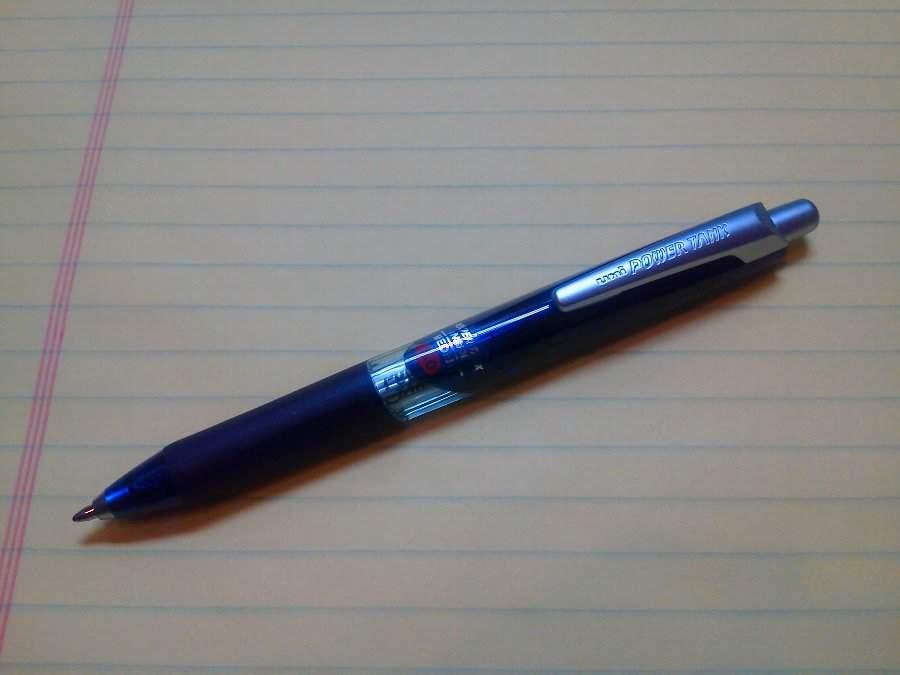 史上最強のボールペンを知ってますか? どんなシチュエーションでも書くことができる「パワータンク」 3番目の画像