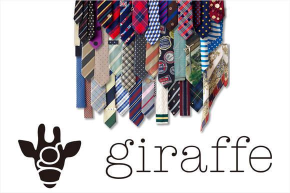 世界一キュートなネクタイブランド。「ジラフ(giraffe)」のネクタイで簡単おしゃれメンズ! 3番目の画像
