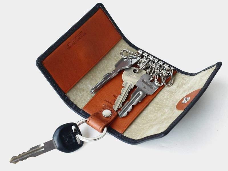 """""""デキ""""るメンズは鍵の整理整頓から。キーケース買うならこのブランドの逸品を。 2番目の画像"""