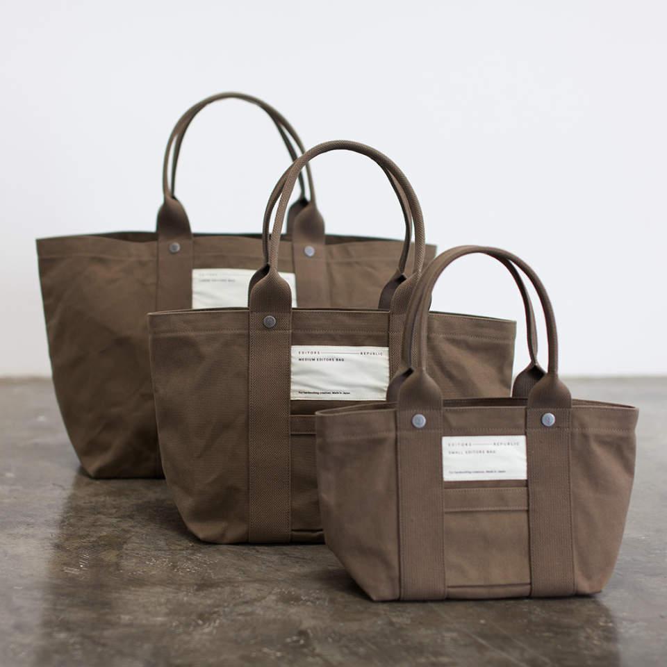 オンでもオフでも使える。編集者が考え抜いて作ったブランド「エディターズリパブリック」のバッグ 4番目の画像