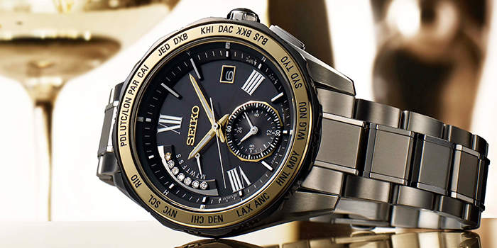 重厚なデザインで男際立つ。クロノグラフ腕時計なら「SEIKO(セイコー)」の一品 2番目の画像
