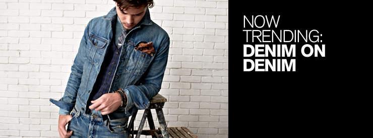 男らしさを追求したデニムジーンズの着こなし術。夏は「デニム・オン・デニム」で魅せる 1番目の画像