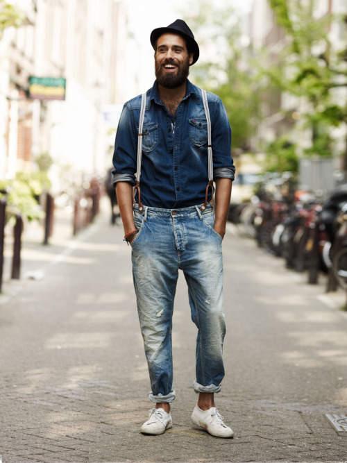 男らしさを追求したデニムジーンズの着こなし術。夏は「デニム・オン・デニム」で魅せる 3番目の画像
