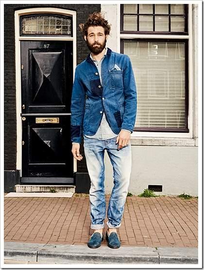 男らしさを追求したデニムジーンズの着こなし術。夏は「デニム・オン・デニム」で魅せる 2番目の画像