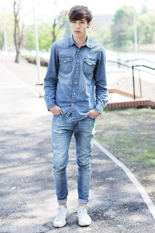 男らしさを追求したデニムジーンズの着こなし術。夏は「デニム・オン・デニム」で魅せる 4番目の画像