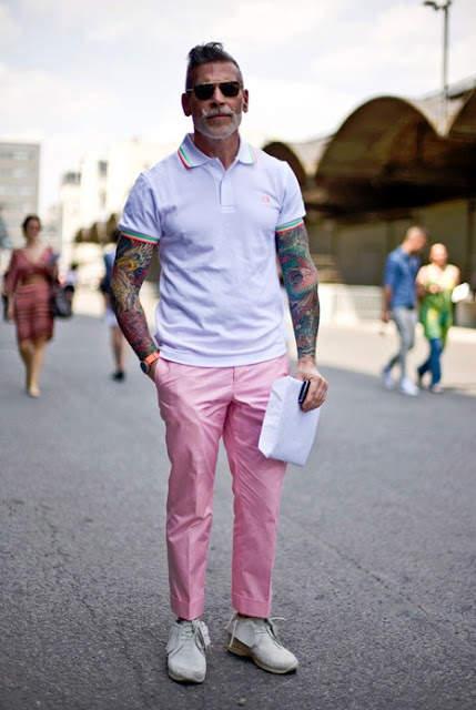 頭を悩ませる、ポロシャツコーデ。夏の定番アイテム「ポロシャツ」のメンズ向けコーデまとめ 7番目の画像