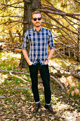 革靴×ジーンズで大人なカジュアルスタイル作り。男らしさを引き出すコーディネート術 3番目の画像