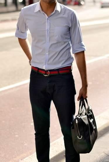 「スーツとベルト」は意外と見られてる? 真の洒落男はスーツとベルトの組み合わせから。 8番目の画像
