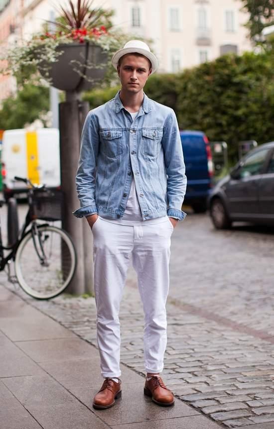 おしゃれな白パンツコーデで、夏のお洒落メンズに! 洒落男の王道パンツ「白パン」の攻略法  2番目の画像