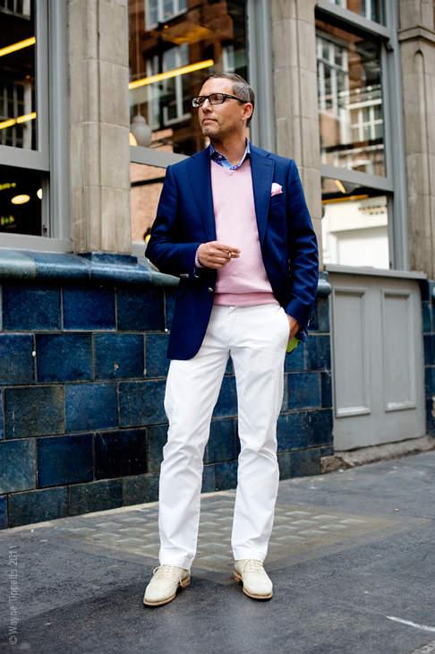 おしゃれな白パンツコーデで、夏のお洒落メンズに! 洒落男の王道パンツ「白パン」の攻略法  6番目の画像