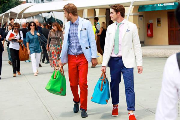 お洒落な夏メンズは「カラーパンツ」で魅せる! 夏らしさが光る、カラーパンツのコーデまとめ 1番目の画像