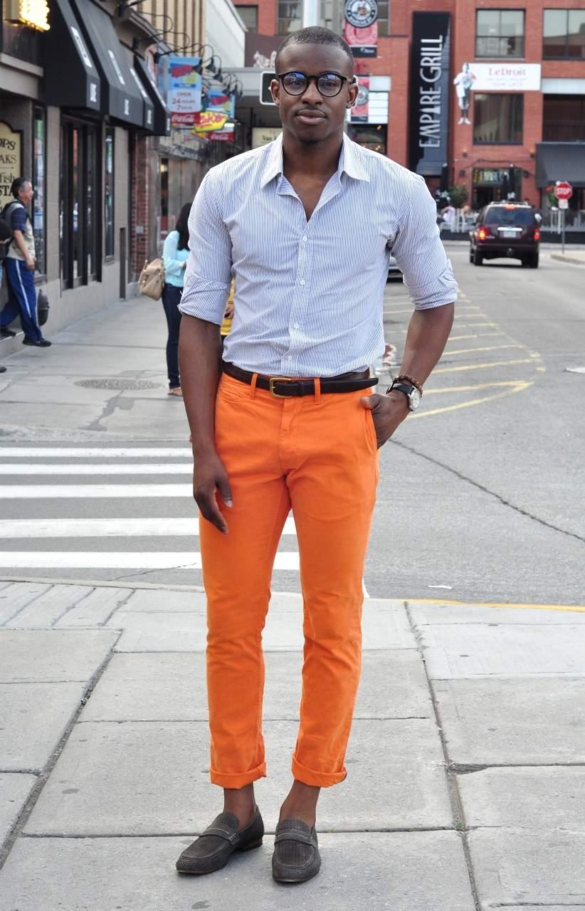 お洒落な夏メンズは「カラーパンツ」で魅せる! 夏らしさが光る、カラーパンツのコーデまとめ 3番目の画像