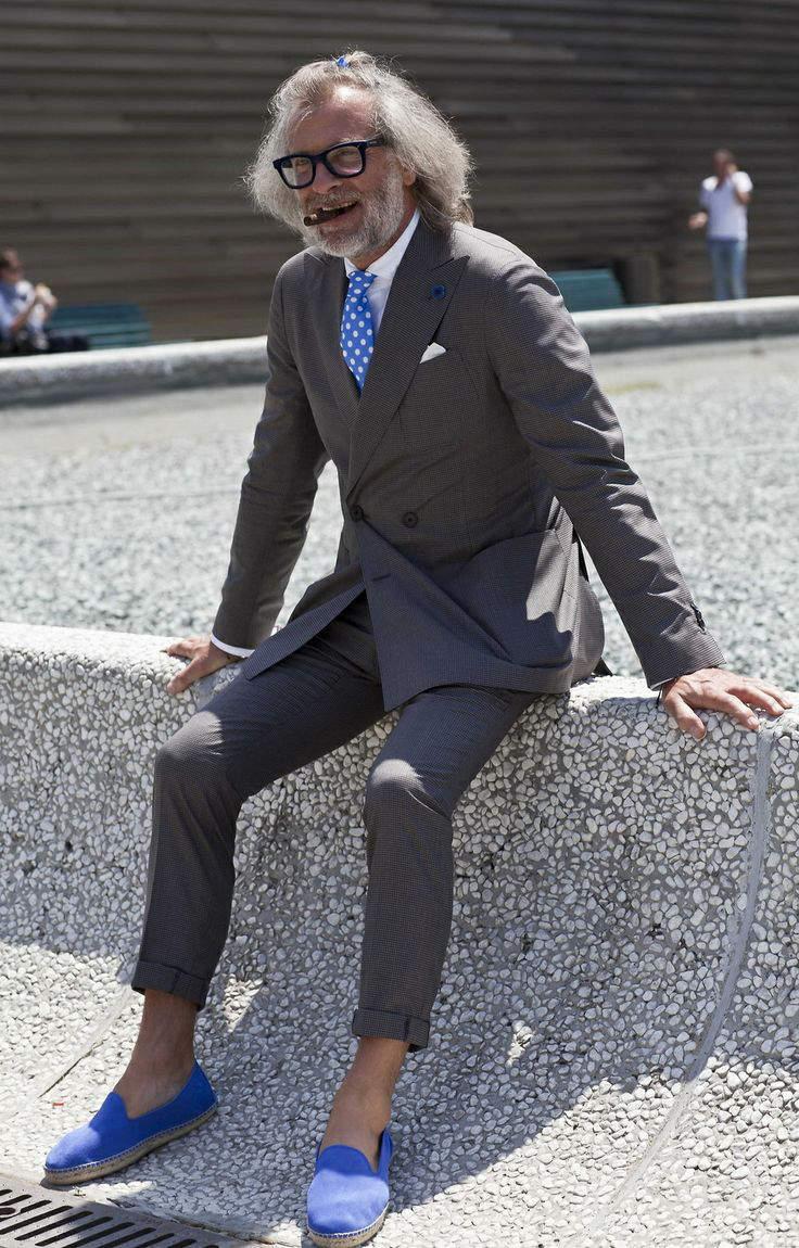 海外セレブの間で人気沸騰中! エスパドリーユのメンズ向けおしゃれコーディネート集 10番目の画像