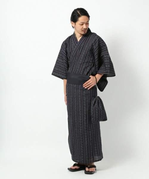 メンズ浴衣で男前3割増。粋なメンズ浴衣の極意 [選び方・おすすめ浴衣・着付け方法] 5番目の画像