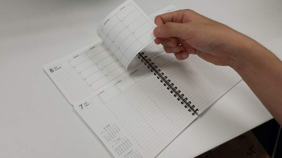 効率的なタイムマネジネントを叶えるスマートなおすすめビジネス手帳3選 3番目の画像