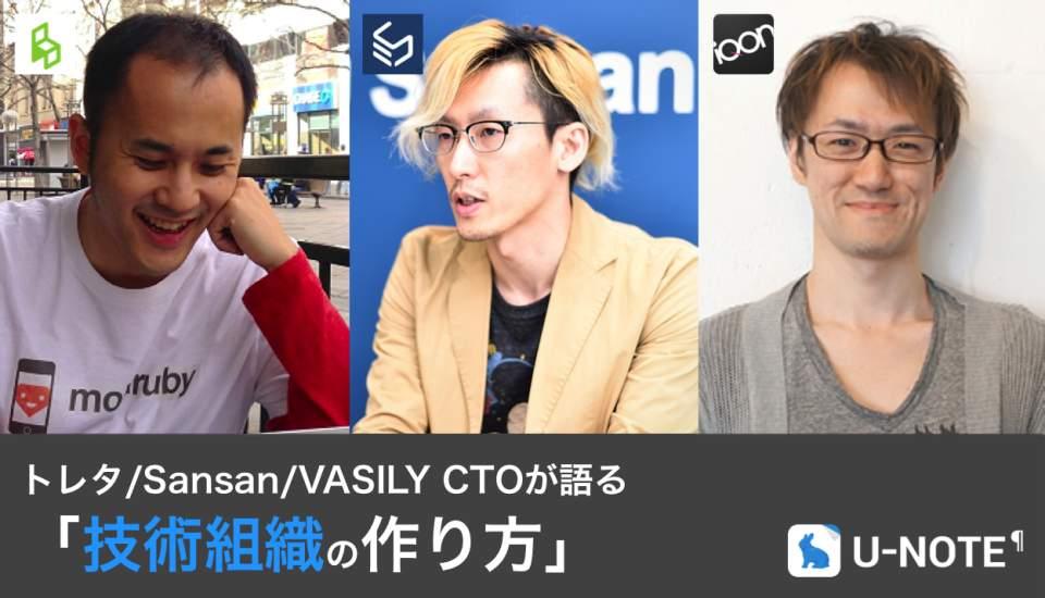 トレタ/Sansan/VASILY CTOが語る「技術組織の作り方」:エンジニア向けイベント開催 1番目の画像