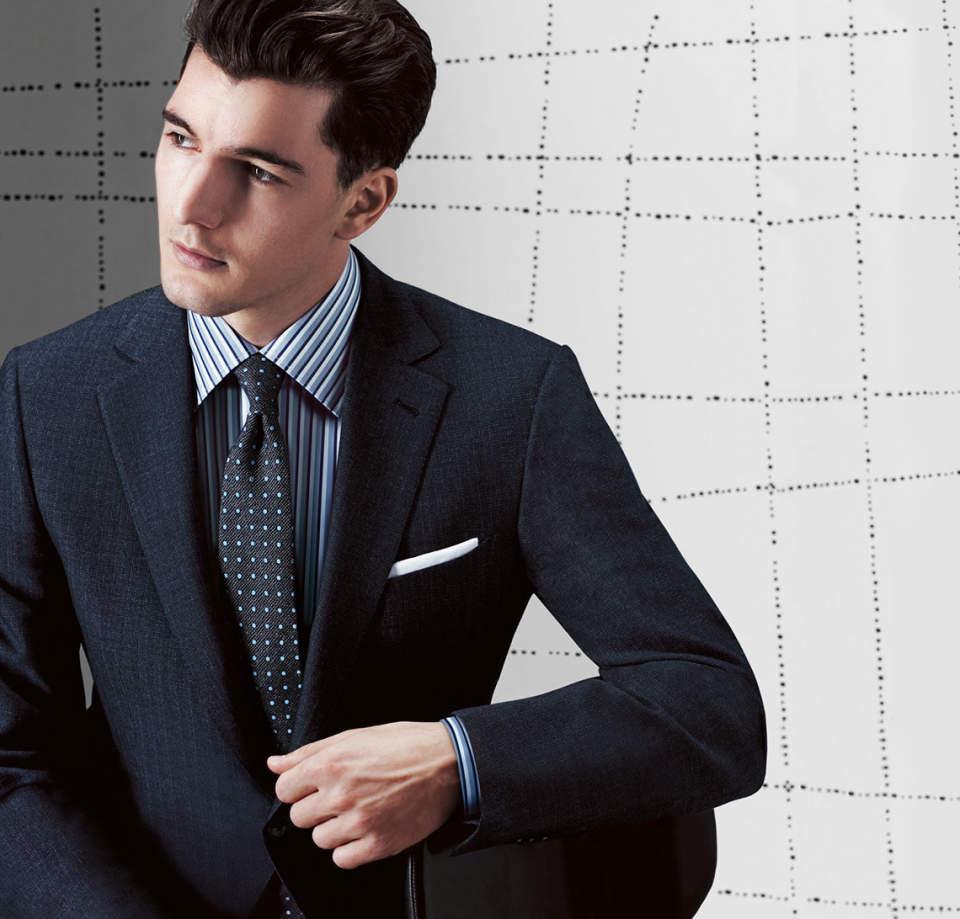 """おすすめのスーツブランド特集:デキるビジネスマンは、""""自分に合った""""スーツブランドを知っている。 3番目の画像"""