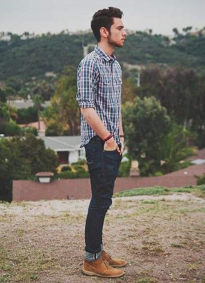 秋冬のデイリーコーデには鉄板のネルシャツを。おしゃれメンズが魅せるネルシャツの洒落た着こなし方 3番目の画像