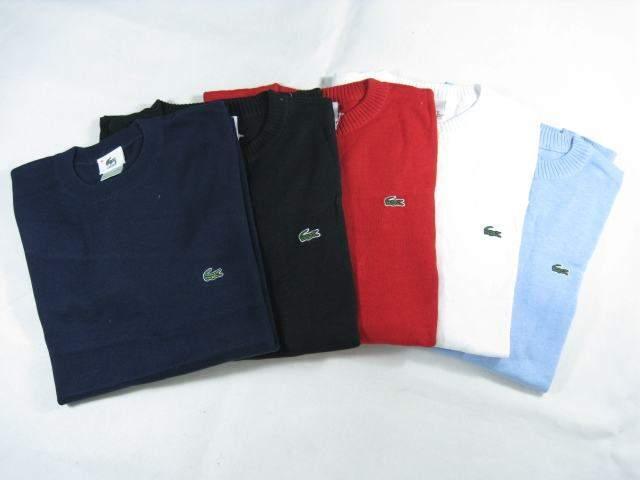 セーターはラコステでGETすべし。その理由はラコステの「定番」×「レトロ」なデザインにあり 1番目の画像