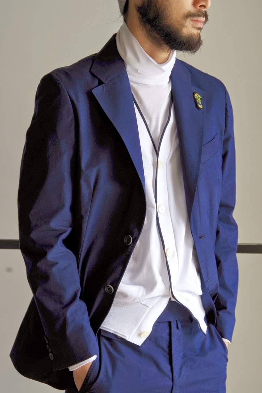 あなた好みはどのネイビー? ネイビー×5つのジャケットで、着こなせ大人のジャケットコーデ! 2番目の画像