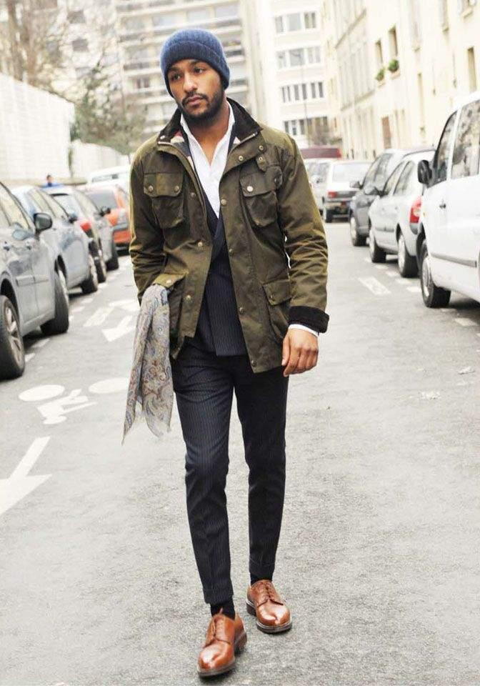 流行のミリタリーファッション。おさえるべきアイテムでミリタリーファッションを攻略! 4番目の画像