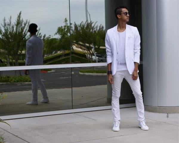 ワントーンコーデのリアルスタイル:メンズワントーンコーデはこう着るのがベスト! 1番目の画像