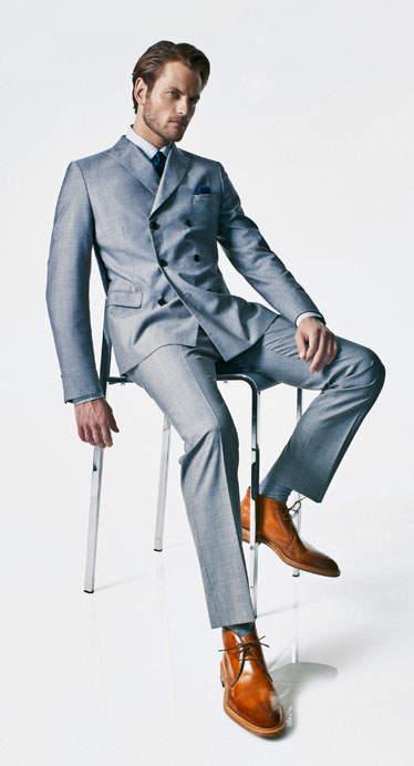 叫ばれるダブルスーツの「復権」。世界のお洒落メンズが着こなすダブルスーツのコーデ集! 5番目の画像