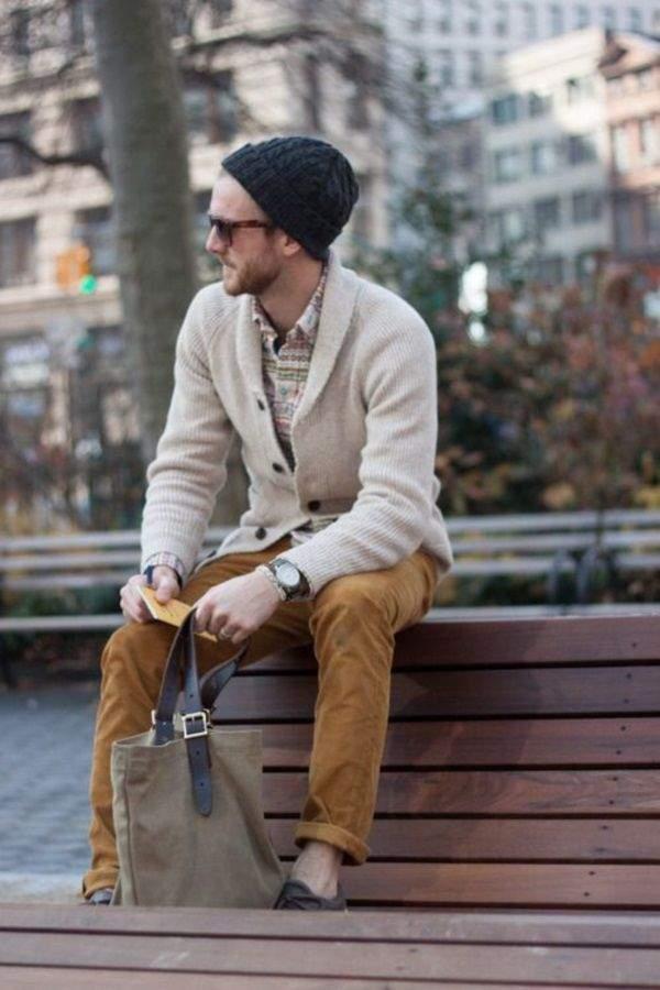 大人メンズを魅了する、白ニットの着こなし。本当にお洒落なメンズなら知っているそのコーデ術とは? 4番目の画像