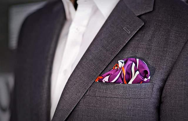 ポケットチーフの折り方は、これを読めばひとまず安心。基本をおさえた折り方でスーツ姿を格上げせよ 4番目の画像