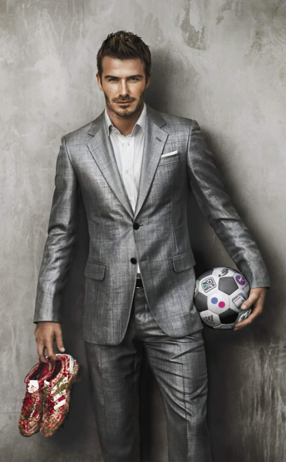 """世界の洒落男=デビット・ベッカム流、人を魅了するスーツ姿の作り方 今日からできる""""お洒落のコツ"""" 5番目の画像"""
