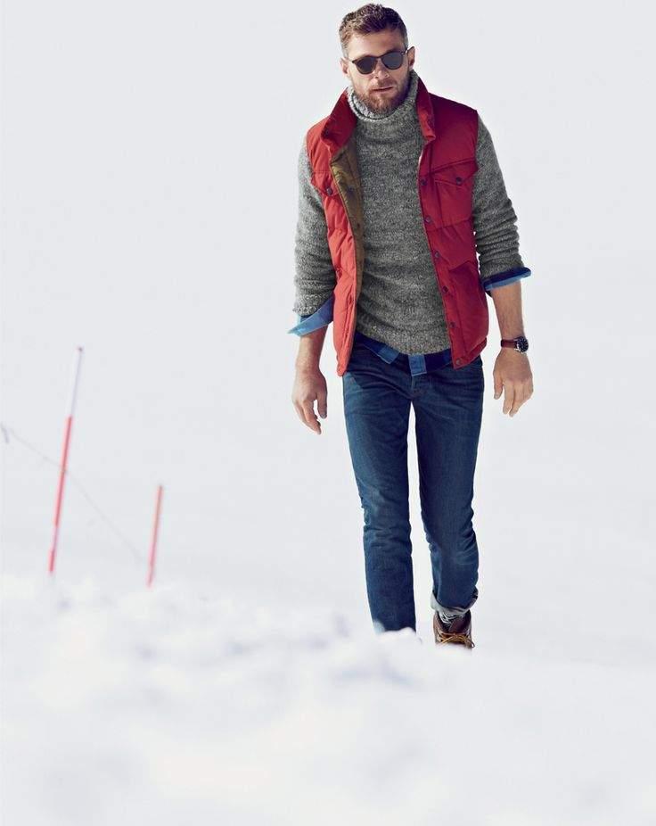 大人の男こそ着こなしたい。秋冬トレンドアイテム、タートルネックの5色のカラー別コーディネート 5番目の画像