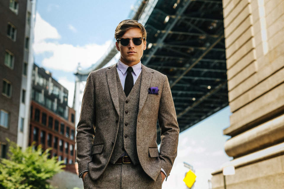 スーツ姿がかっこいい男は「毎日」かっこいい。 常にかっこいい男であり続けるためのスーツ着こなし  1番目の画像