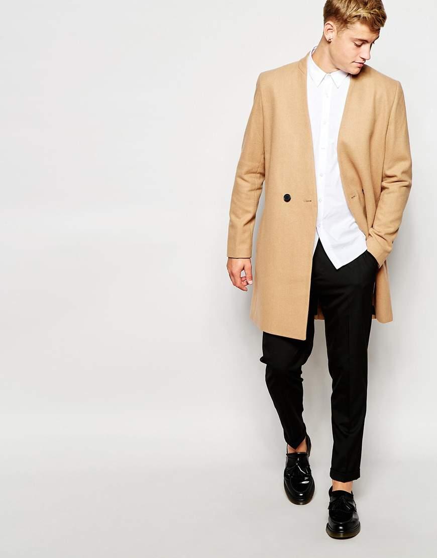 こんなにも幅広かった! コート選びに悩むメンズの助け舟、キャメルコートの豊富な種類と着こなし方 7番目の画像