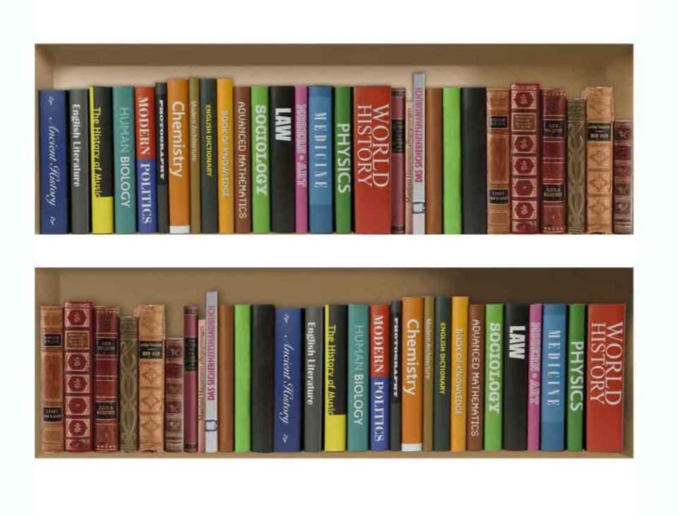 """本棚整理を工夫し、""""空間""""を操れ。実用的で「おしゃれな本棚整理術」をマスターせよ 2番目の画像"""
