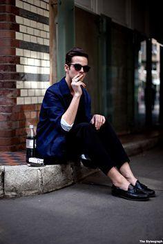 """""""ローファーの万能性""""に、今こそ刮目せよ。コーデ・人・年齢を選ばないメンズローファーを着こなそう 3番目の画像"""