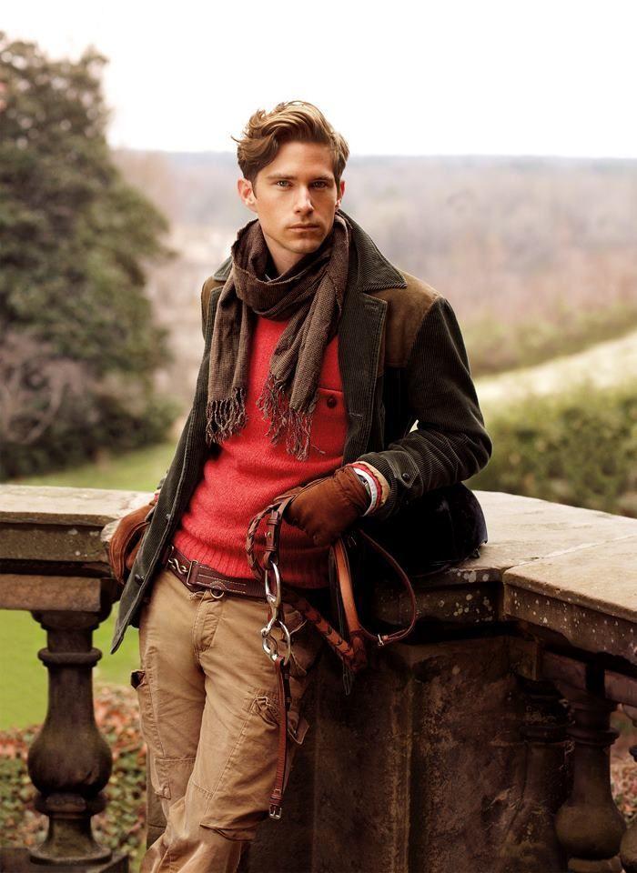 """カラーセーターの持つ様々な顔を攻略せよ! """"赤セーター""""を取り入れた秋冬メンズコーデを一挙ご紹介 7番目の画像"""