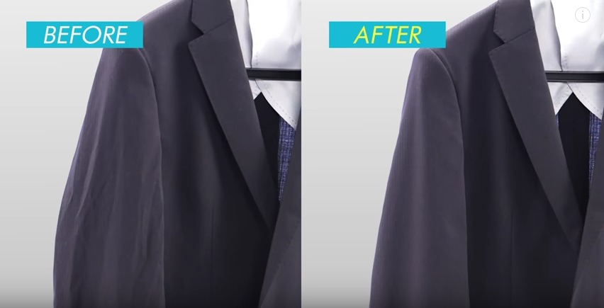 """スーツはアイロンのかけ方一つで変わる! 10分で出来るアイロンテクでスーツを""""新品同様""""に 4番目の画像"""