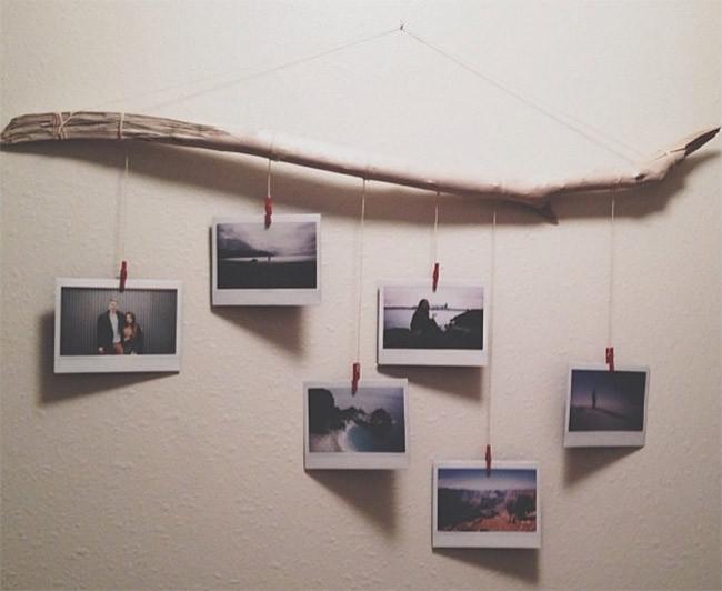 """オシャレに""""写真を飾る""""20のアイディア!撮った写真をインテリアにするテクニックを解説 2番目の画像"""