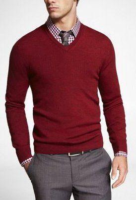 冬の定番セーター×シャツコーデを体得せよ! バリエーション豊かなセーターとシャツの組み合わせ集 6番目の画像