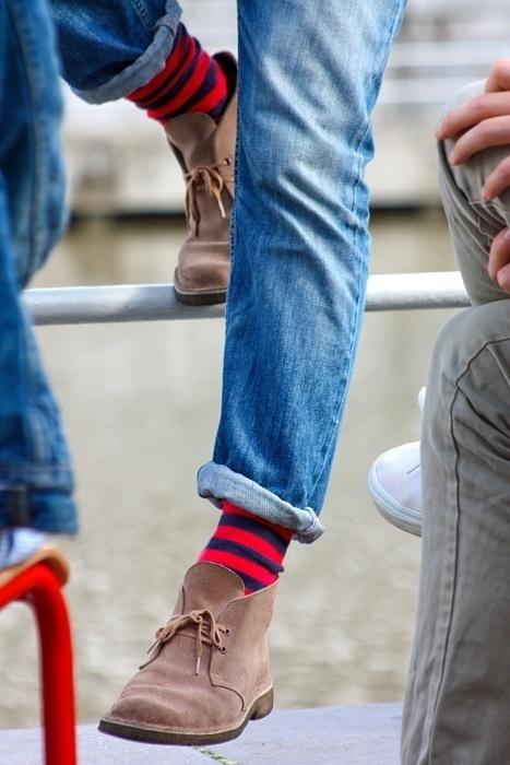 """靴下がファッションの決め手! 意外と難しい靴下コーデをマスターして、""""足元から""""おしゃれメンズに 5番目の画像"""